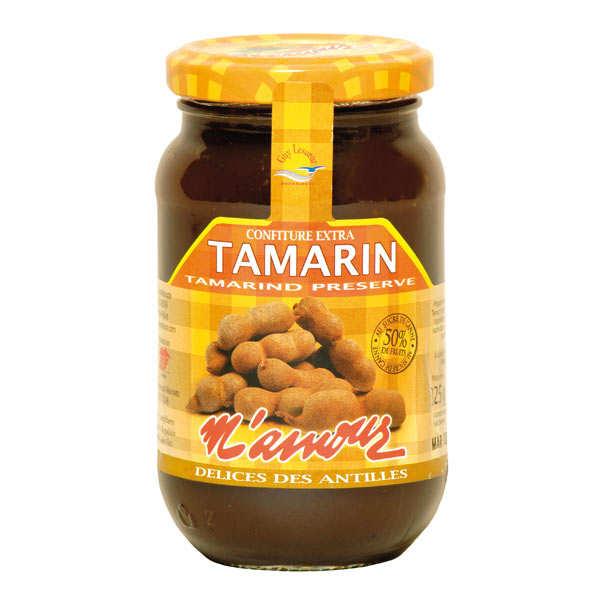 Délices M'amour Confiture de tamarin de Guadeloupe - Pot 325g