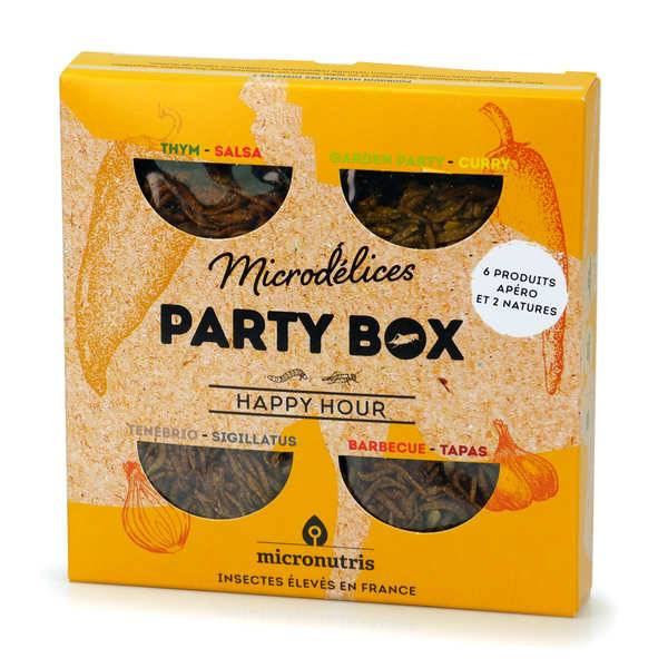 Micronutris Party Box Happy Hour - A la découverte de l'insecte - Boîte 37,5g