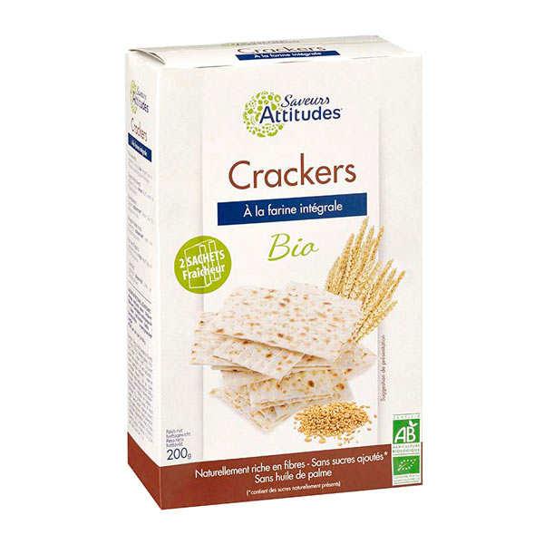 Saveurs Attitudes Crackers façon pain azyme bio - Boite 200g