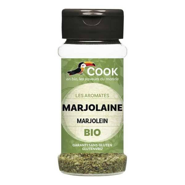 Cook - Herbier de France Marjolaine - aromate bio - Flacon10g