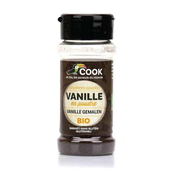 Cook - Herbier de France Vanille en poudre bio équitable - Flacon 10g