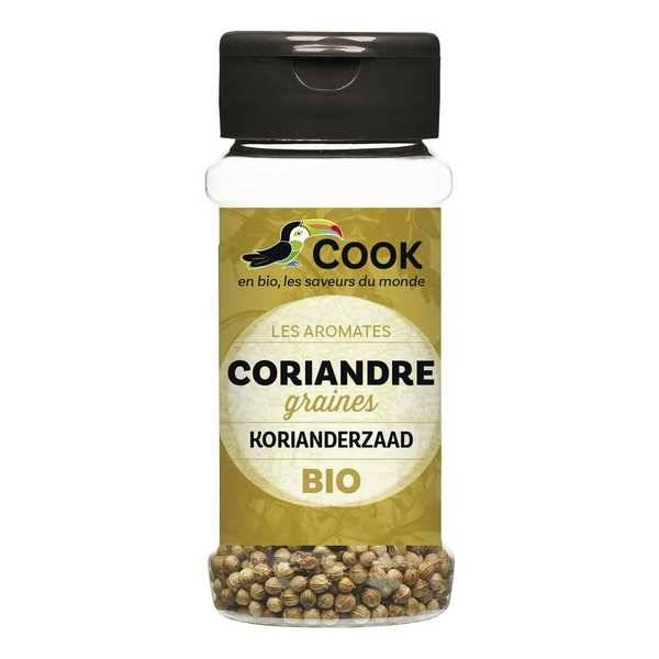 Cook - Herbier de France Coriandre en graines bio - Flacon30g