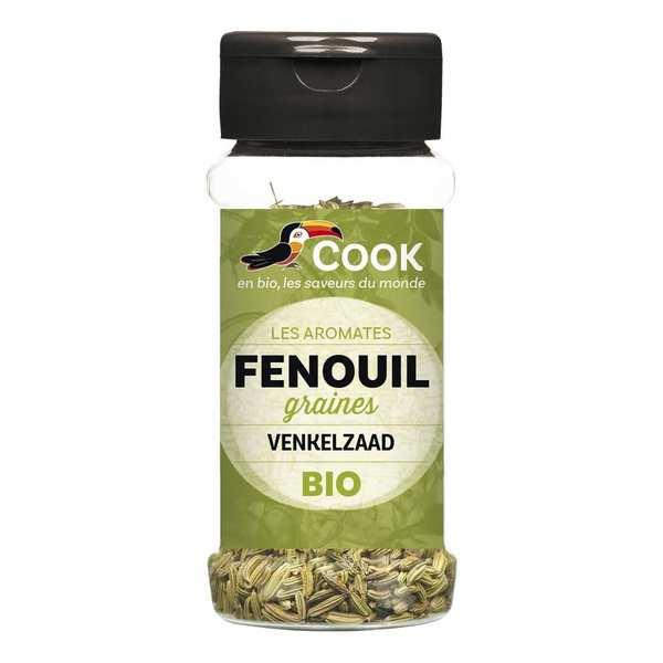 Cook - Herbier de France Fenouil en graines bio - Flacon30g