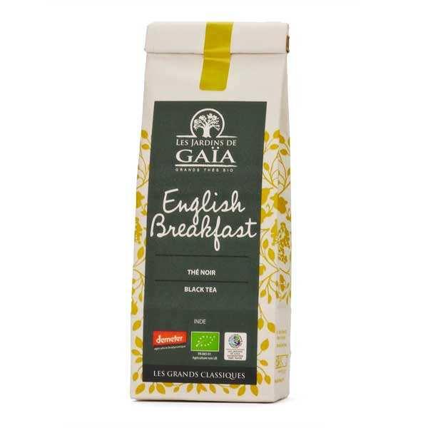 Les Jardins de Gaïa Thé noir english breakfast bio - Lot de 3 sachets de 100g