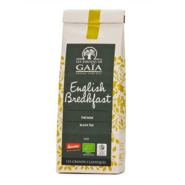 Les Jardins de Gaïa Thé noir english breakfast bio - Lot de 3 sachets de 100g