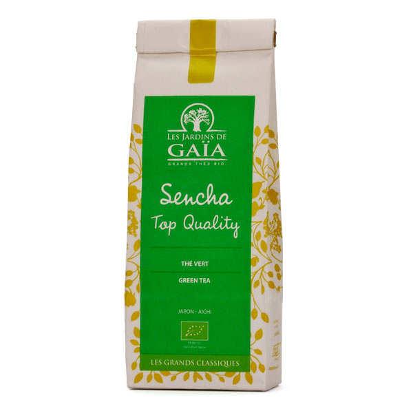 Les Jardins de Gaïa Thé vert sencha top quality bio - Sachet 100g