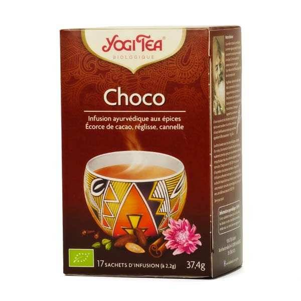 Yogi Tea Infusion choco bio - Yogi Tea - 5 boites de 17 sachets