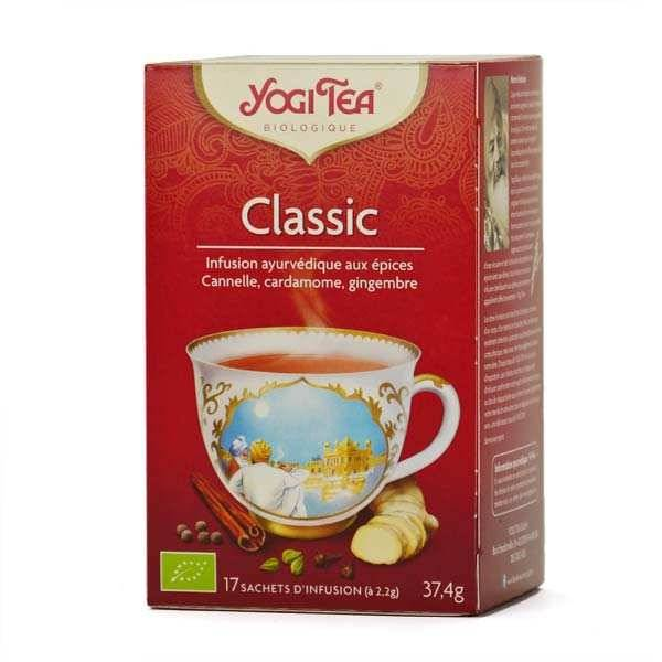 Yogi Tea Infusion classic bio - Yogi Tea - 5 boites de 17 sachets
