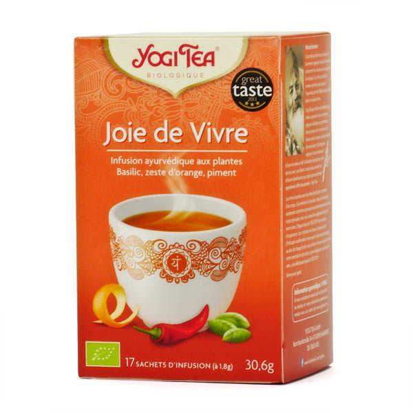 Yogi Tea Infusion Joie de vivre bio - Yogi Tea - 5 boites de 17 sachets