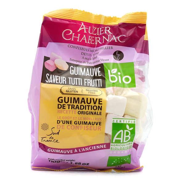 Auzier Chabernac Guimauves saveur tutti frutti bio - Sachet 110g