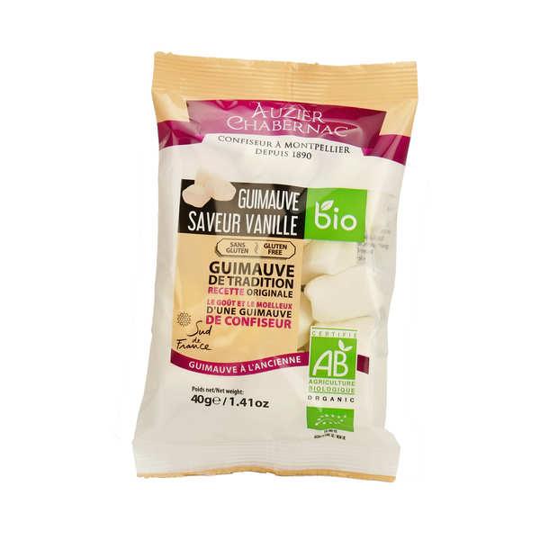 Auzier Chabernac Guimauves saveur vanille bio - Sachet 40g