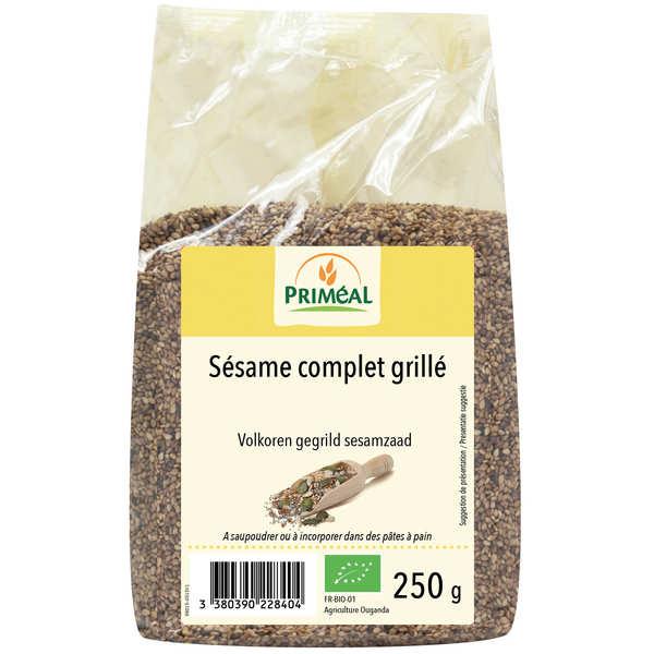 Priméal Sésame complet grillé bio - 3 sachets de 250g