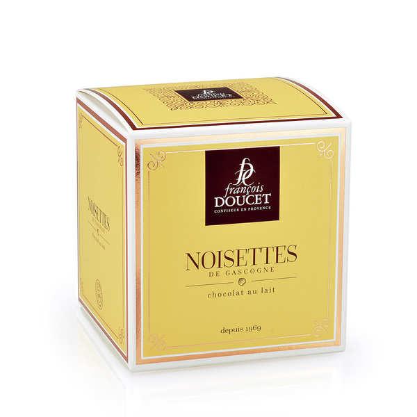 François Doucet Confiseur Noisettes du Midi pralinées et enrobées - François Doucet - Boite carton cubique 300g