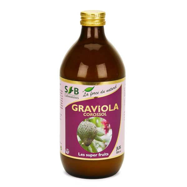 Laboratoire SFB Pur jus de graviola (corossol) - Bouteille verre 500ml