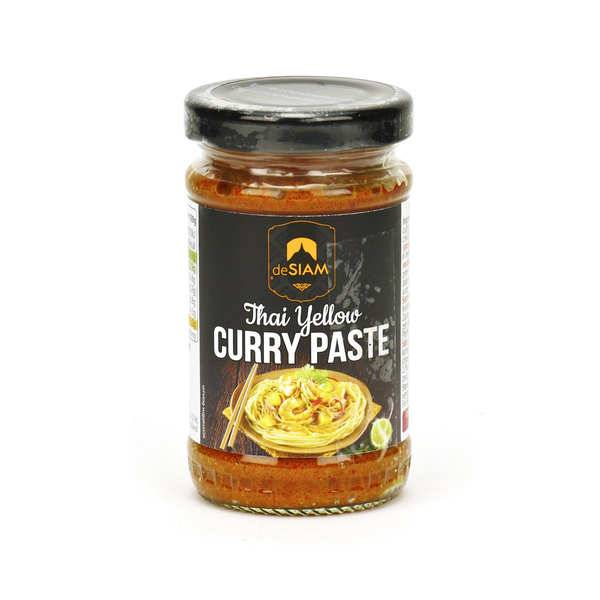 deSIAM Pâte de curry jaune thaï - Pot 200g