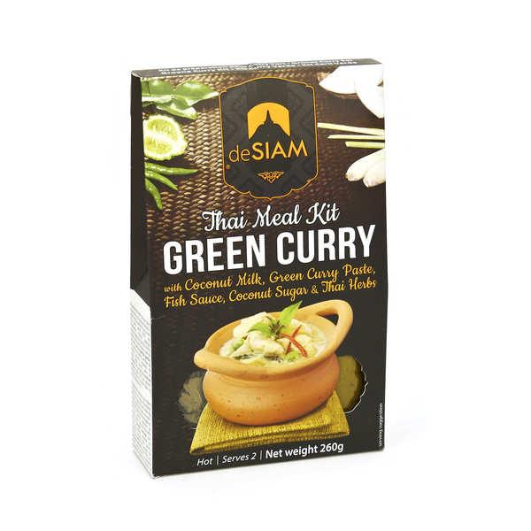 deSIAM Kit curry vert thaï - 260g