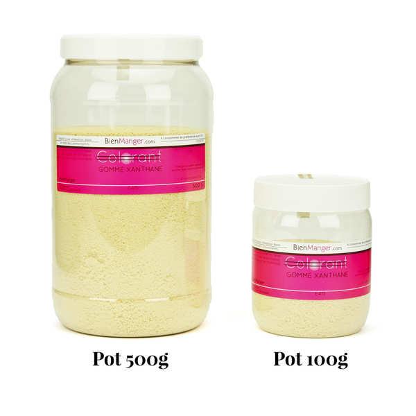 BienManger aromes&colorants Gomme Xanthane en poudre - E415 - Pot 100g