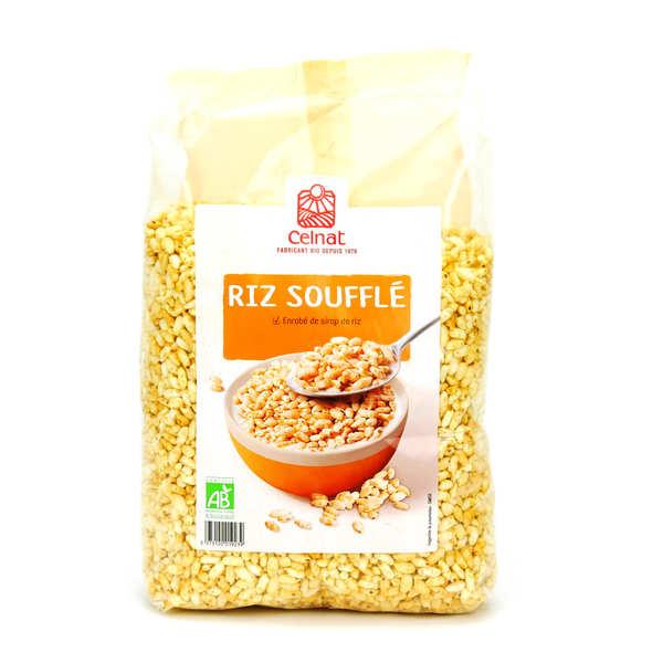 Celnat Riz soufflé bio - 3 sachets de 375g