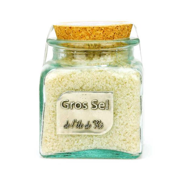 Coopérative des Sauniers de l'Ile de Ré Gros sel marin de l'Ile de Ré - bocal verre - Bocal 400g