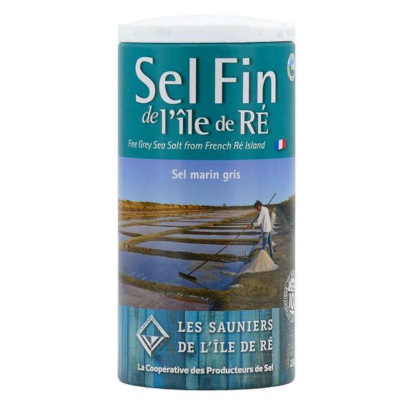 Coopérative des Sauniers de l'Ile de Ré Salière de sel fin de l'Ile de Ré - Pot verseur 125g