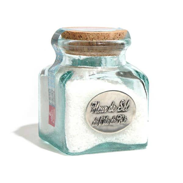Coopérative des Sauniers de l'Ile de Ré Fleur de sel de l'Ile de Ré - bocal verre - Bocal 180g