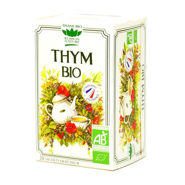 Romon Nature Tisane de thym bio - Boîte 20 sachets