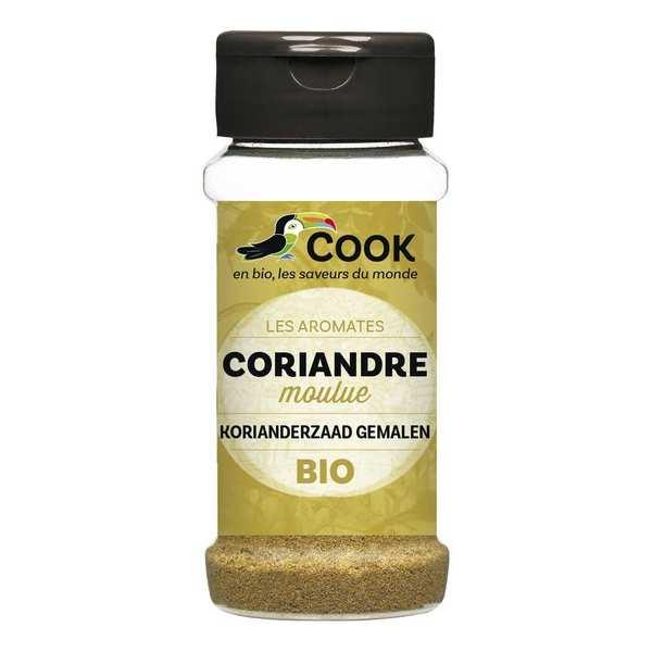 Cook - Herbier de France Coriandre moulue bio - Flacon30g