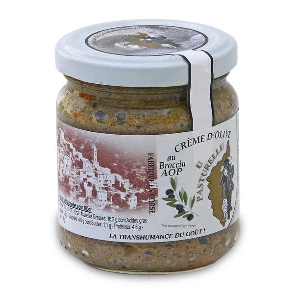 A Paesana Crème d'olive au Brocciu AOP - Pot 180g