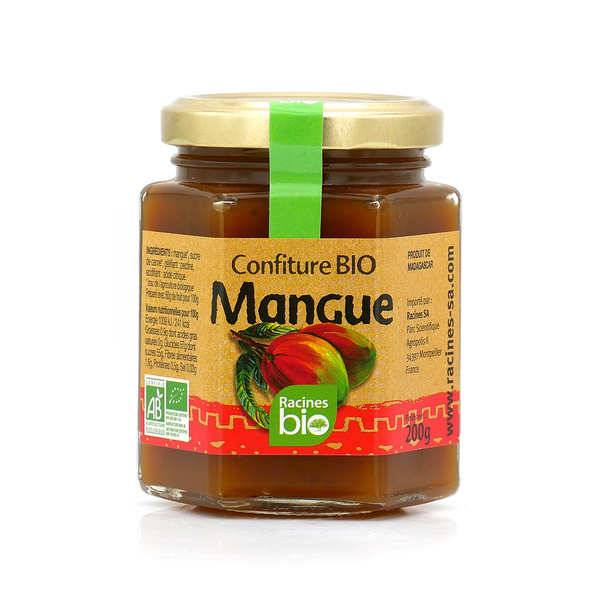Racines Confiture bio de mangue de Madagascar - Pot 200g