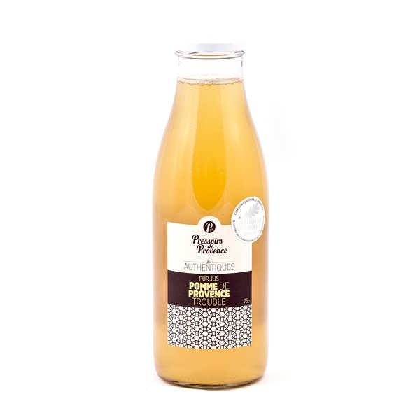 Pressoirs de Provence Pur jus de pomme de Provence trouble - Bouteille 75cl