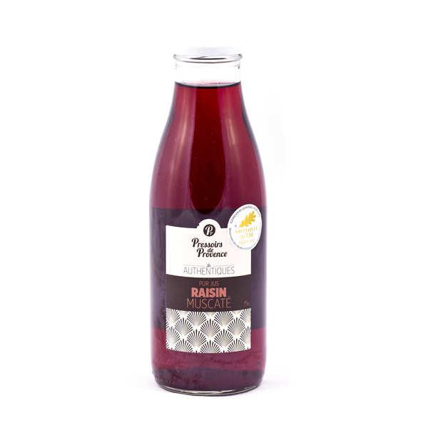 Pressoirs de Provence Pur jus de raisin muscaté - Lot de 3 bouteilles 75cl