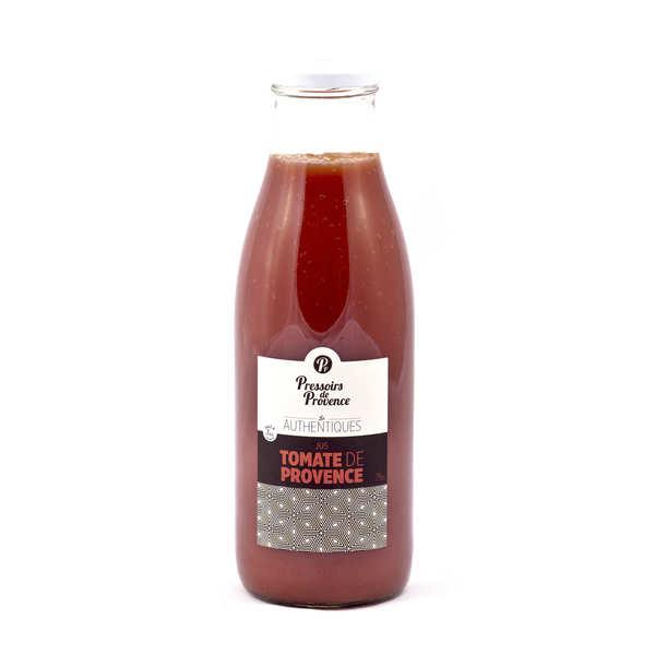 Pressoirs de Provence Jus de tomates de Provence - Lot de 10 bouteilles 25cl
