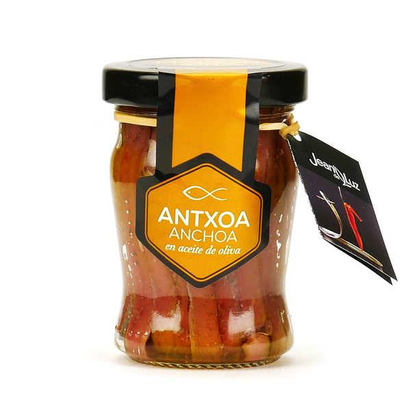 Batteleku - jean de Luz Filet d'anchois à l'huile d'olive Maisor - Bocal 80g