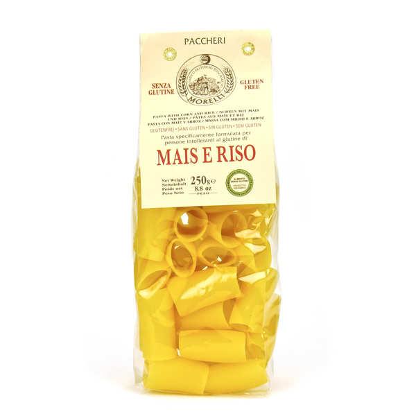 Morelli - Antico pastificio toscano Pâtes paccheri au riz et maïs sans gluten - Sachet 250g