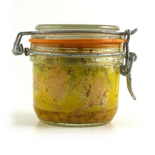 Foie gras GA BESSE Foie gras de canard entier aux pommes et au calvados - Bocal 130g