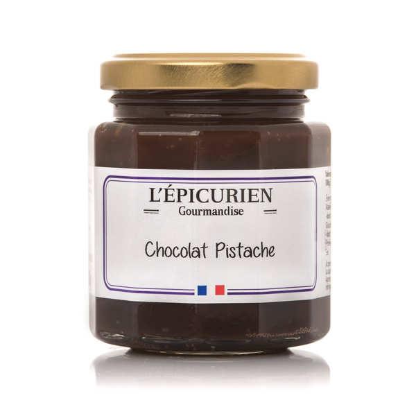 L'épicurien Pâte à tartiner chocolat pistache - Le pot 191ml