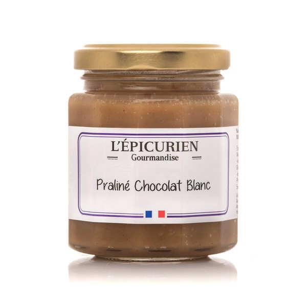 L'épicurien Pâte à tartiner praliné chocolat blanc - Le pot 191ml