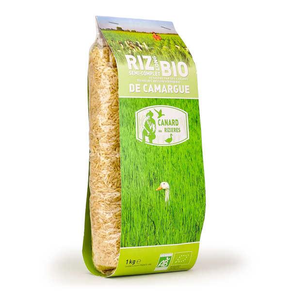 Canard des rizières Riz long de Camargue IGP semi-complet bio - Sac 5kg