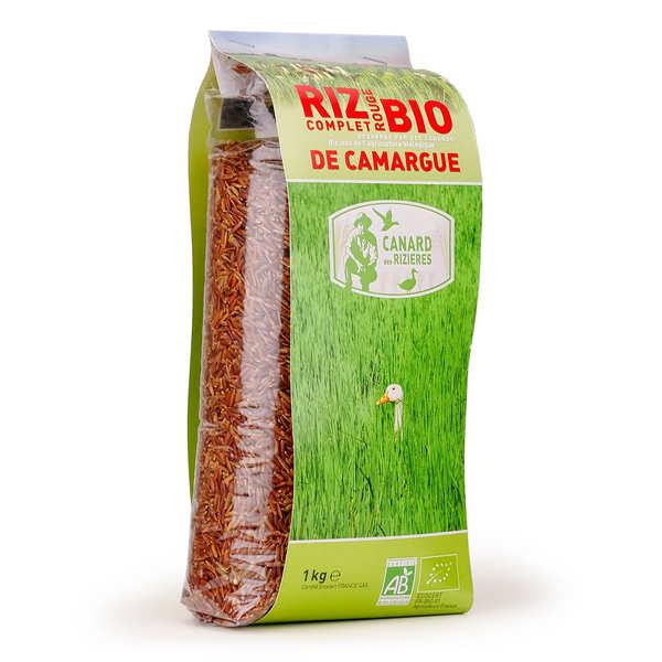 Canard des rizières Riz rouge de Camargue IGP complet bio - 3 sachets de 1kg