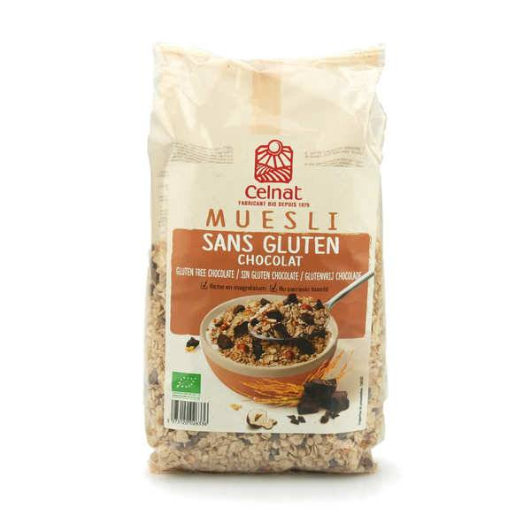 Celnat Muesli au chocolat sans gluten bio - Sachet 375g