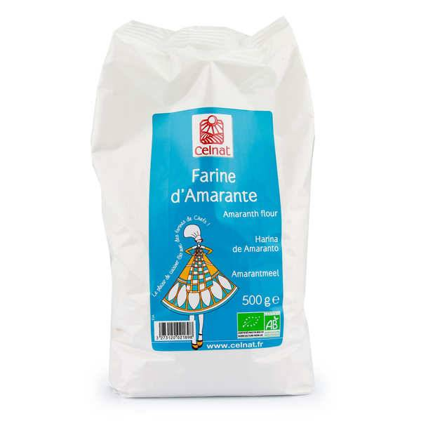 Celnat Farine d'amarante bio - Sachet 500g