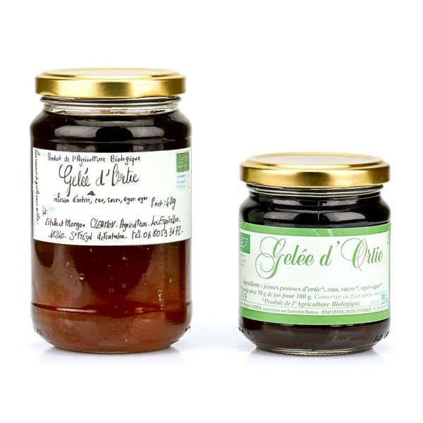 Estelle et Morgan Clermon Gelée d'ortie des Cévennes - Pot 420g