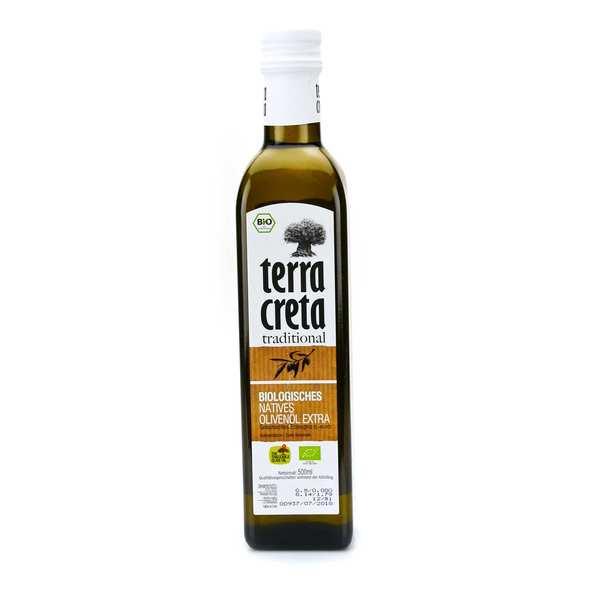Terra Creta Huile d'olive vierge extra de Crète BIO - Bouteille 50cl