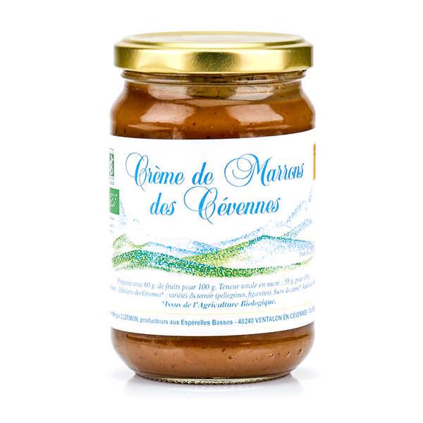 Estelle et Morgan Clermon Crème de marrons des Cévennes bio - Pot 360g