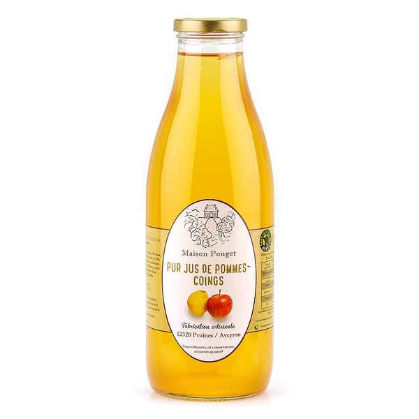 Maison Pouget Jus de pommes-coings - Bouteille 1L