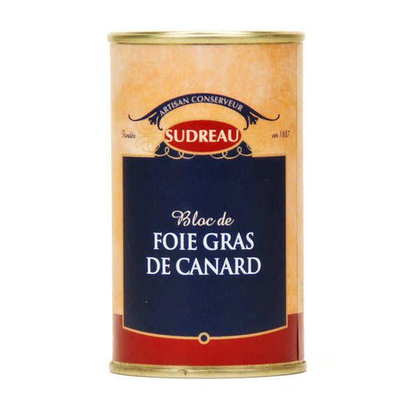 François Sudreau Bloc de foie gras de canard du Lot - la boîte ronde 65g