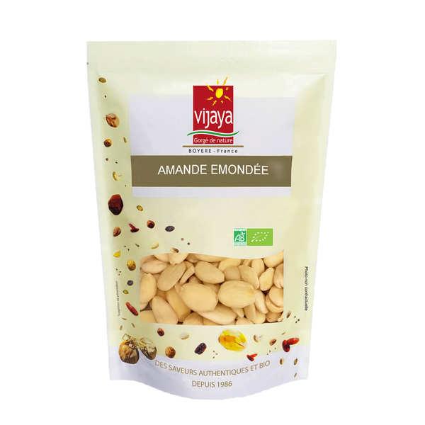 Vijaya Amandes émondées bio - Sac 1kg