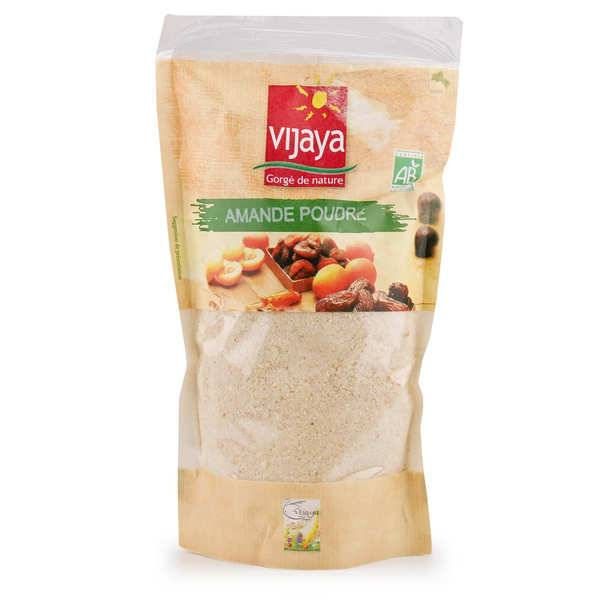 Vijaya Poudre d'amande blanche bio - Vijaya - Lot de 3 sachets de 400g