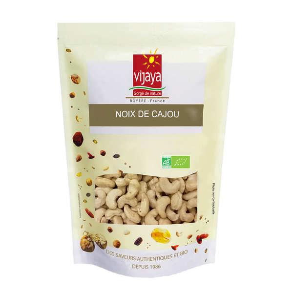 Vijaya Noix de cajou décortiquées non salées bio - Sachet 500g