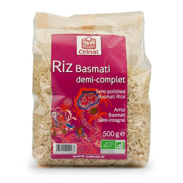 Celnat Riz basmati demi-complet bio - Sachet 500g